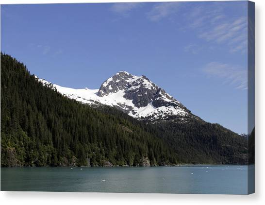 Alaska Sea-landscape Canvas Print