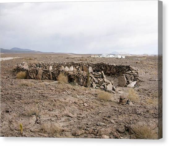 Atacama Desert Canvas Print - Alma Site by European Southern Observatory