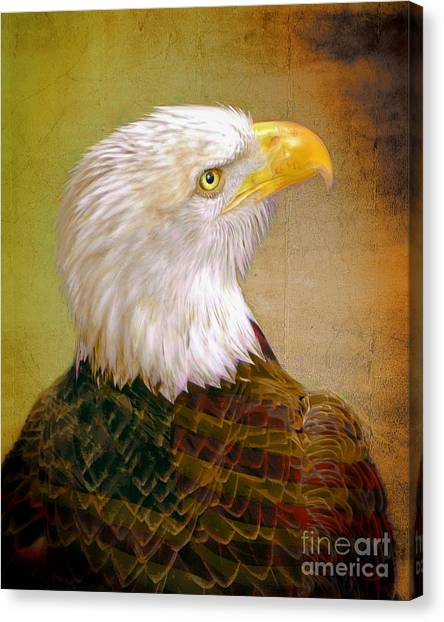 American Eagle Canvas Print