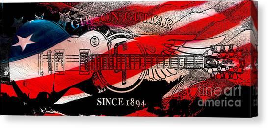 Mandolins Canvas Print - American Legend by Jon Neidert