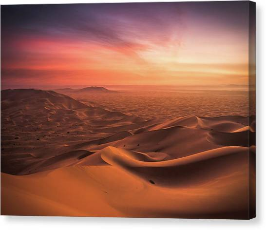 Moroccon Canvas Print - An End And A Beginning by Andreas Wonisch