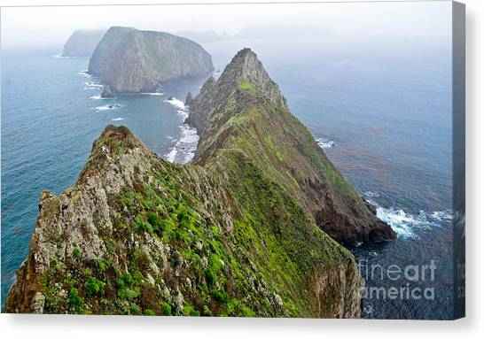 Anacapa Panorama Canvas Print