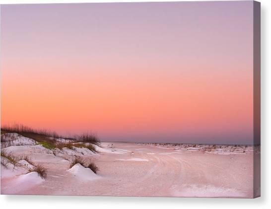 Anastasia Beach Sunset Canvas Print