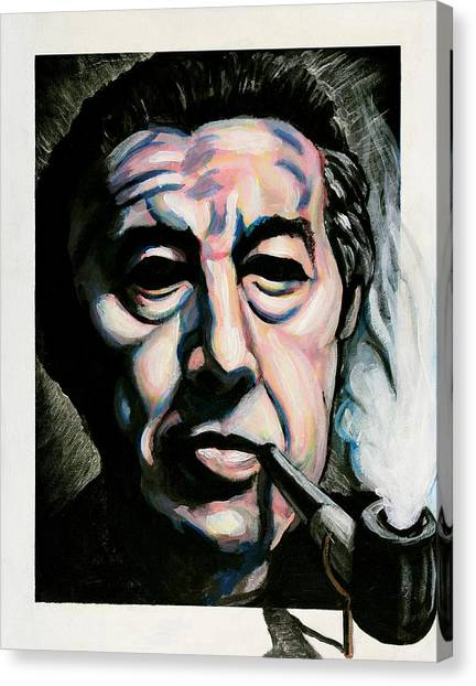 Andre Breton Canvas Print by Adam B Cook