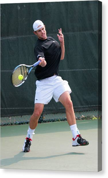 Andy Roddick Canvas Print - Andy Roddick  by James Marvin Phelps