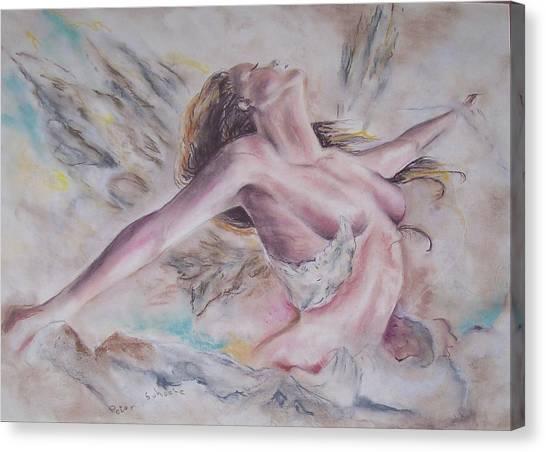 Angel Burst Canvas Print