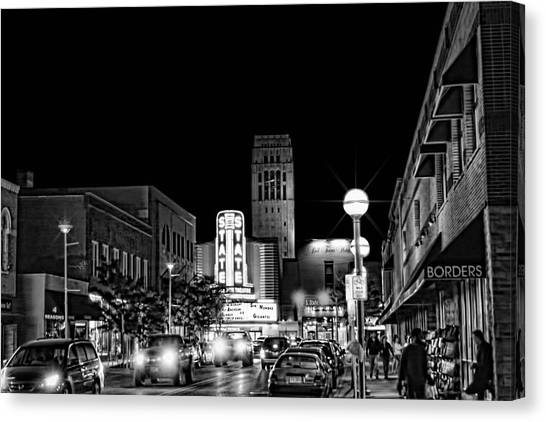 Ann Arbor Nights Canvas Print