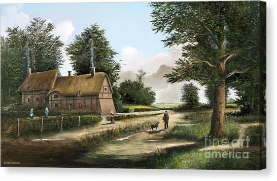 Anne Hathaway's Cottage Canvas Print