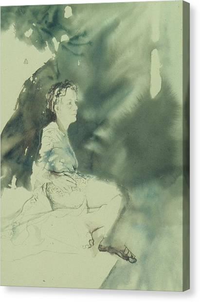 Annunciation Canvas Print by Chae Min Shim