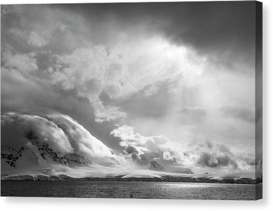 Antarctica Canvas Print - Antarctica, South Atlantic by Jaynes Gallery