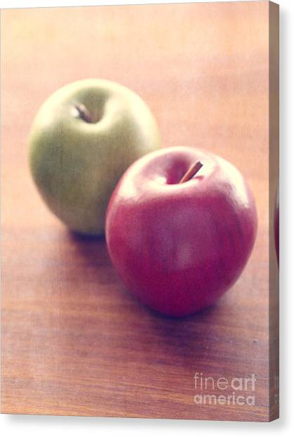 Packaging Canvas Print - Apples by Edward Fielding