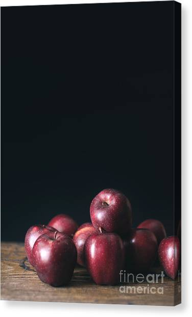 Fruit Canvas Print - Apples by Viktor Pravdica