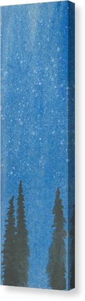 Arboribus Nix Canvas Print