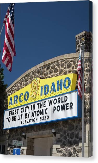 Nuclear Plants Canvas Print - Arco by Jim West