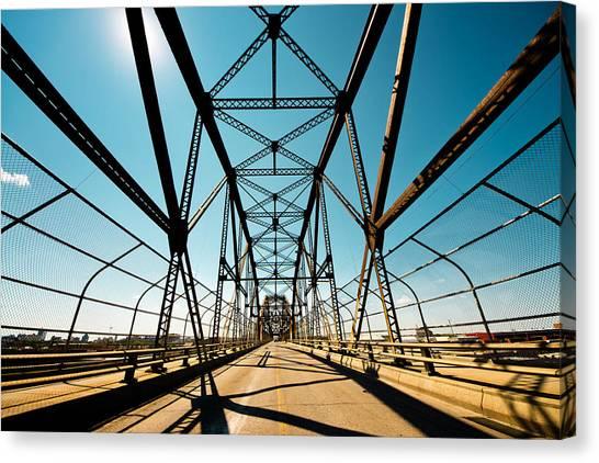 Manitoba Canvas Print - Arlington Bridge by Bryan Scott