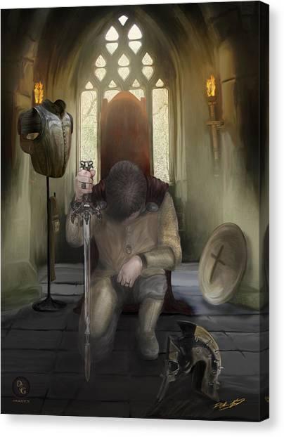 Armor Of God Canvas Print