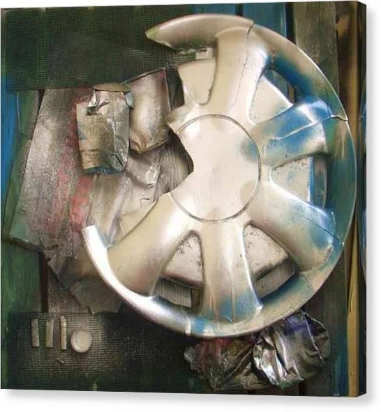 Art Trash Canvas Print by Wiola Anyz