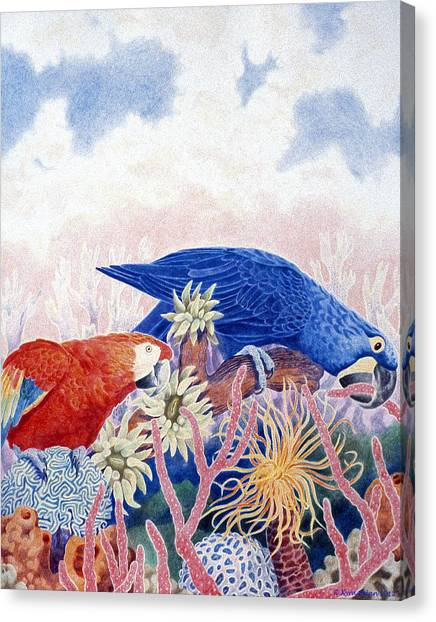Astarte's Paradise IIi Canvas Print