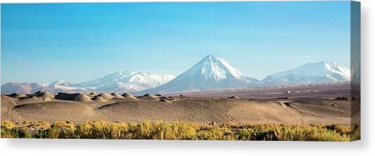 Atacama Desert Canvas Print - Atacama Landscape by Peter J. Raymond