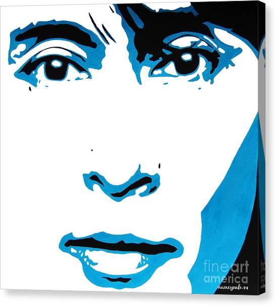 Aung San Suu Kyi. Canvas Print