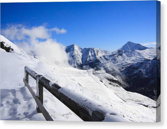 Austrian Mountains Canvas Print