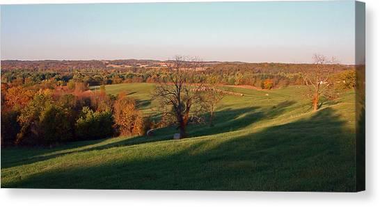 Autumn Countryside Canvas Print