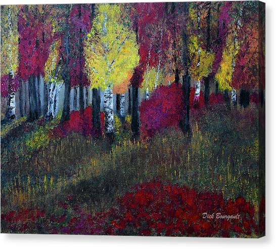 Autumn Peak Canvas Print