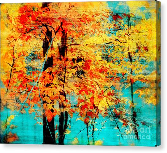 Autumn Tapestry Canvas Print