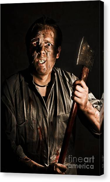 Axes Canvas Print - Axe Murderer by Jorgo Photography - Wall Art Gallery