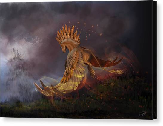 Back From The Nightmare Canvas Print