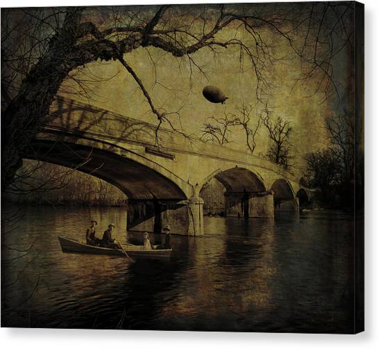 Back In Time Canvas Print