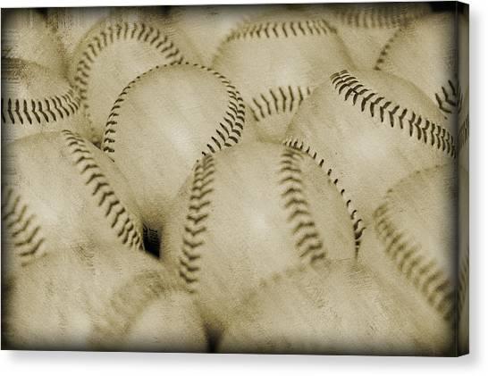 Balls Canvas Print by Malania Hammer