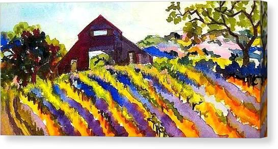 Barn In Sonoma Canvas Print