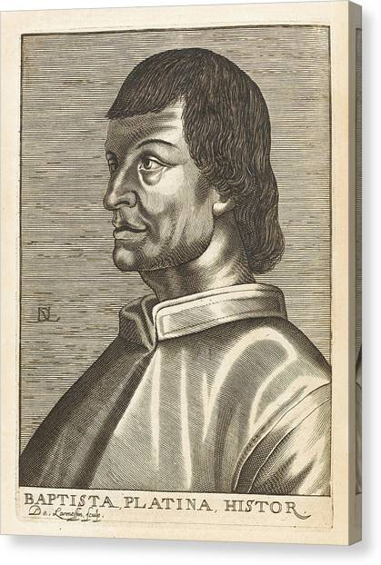 Bartolommeo De Sacchi Known Canvas Print by Mary Evans Picture Library