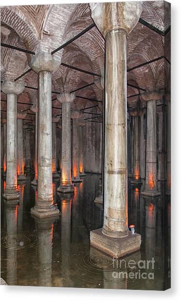 Basilica Cistern 02 Canvas Print