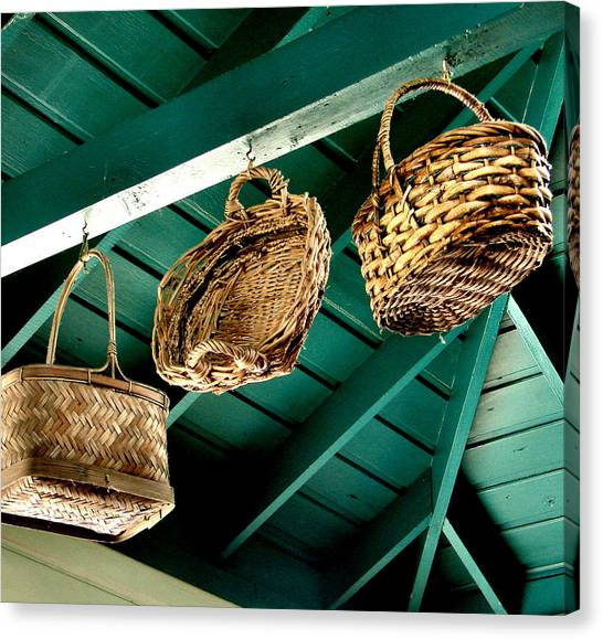 Baskets  Canvas Print