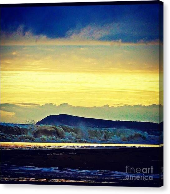 Bass Coast Canvas Print