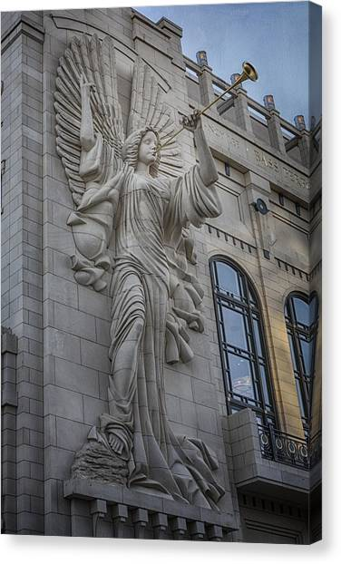 Bass Hall Angel Canvas Print