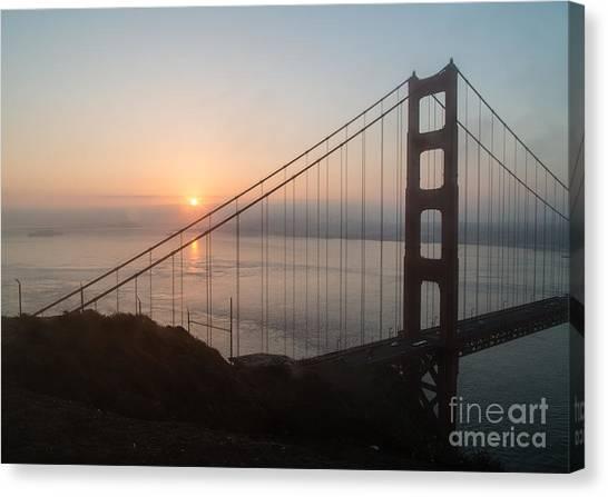 Golden Gate Bridge - 145 Canvas Print by Stephen Parker