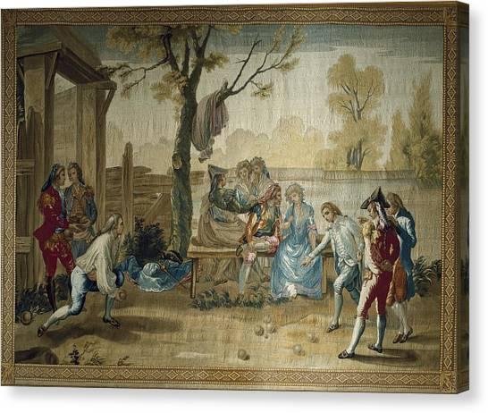 Fabric Of Society Canvas Print - Bayeu Y Subias, Ram�n 1746-1793. The by Everett