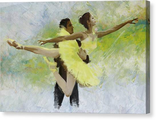 Ballerinas Canvas Print - Belly Dancers by Corporate Art Task Force