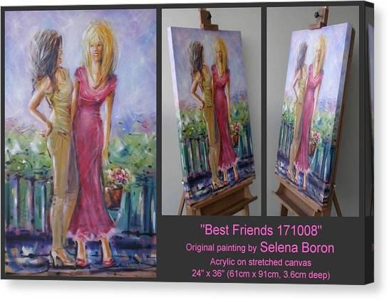 Best Friends 171008 Canvas Print