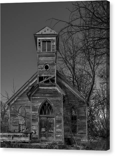 Canvas Print featuring the photograph Better Days by Edward Peterson