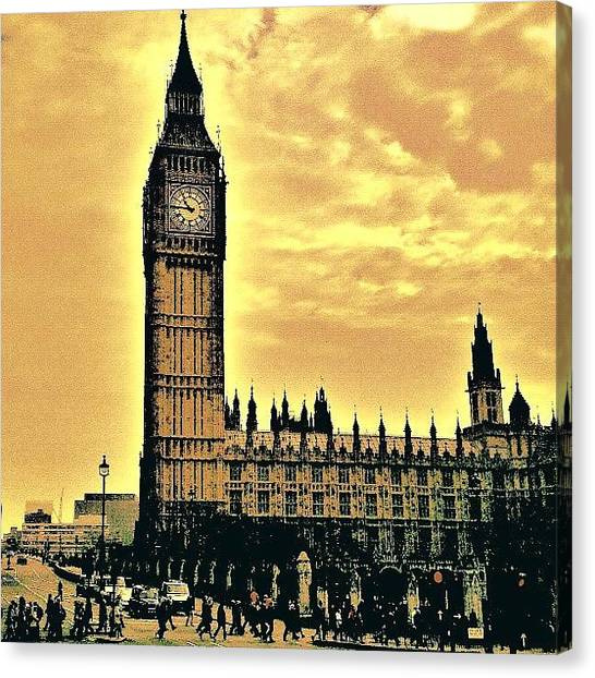 Edit Canvas Print - Big Ben!! by Chris Drake