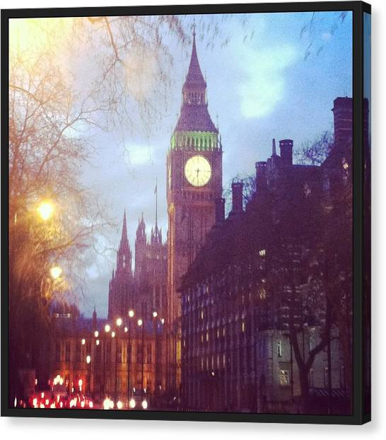 Big Ben Canvas Print - Big Ben  by David  Simmons