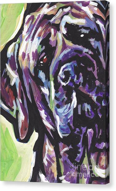 Mastiffs Canvas Print - Big Boy by Lea S