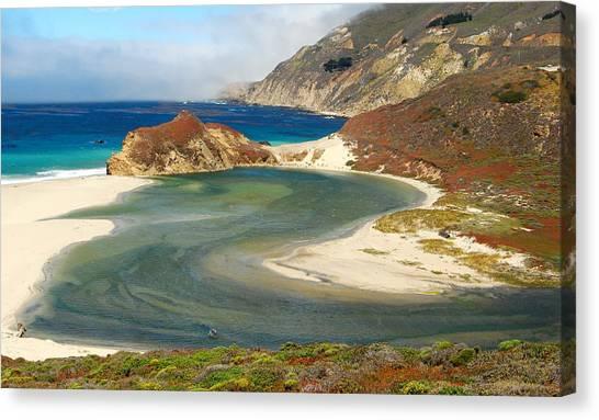 Big Sur Canvas Print by Mamie Gunning