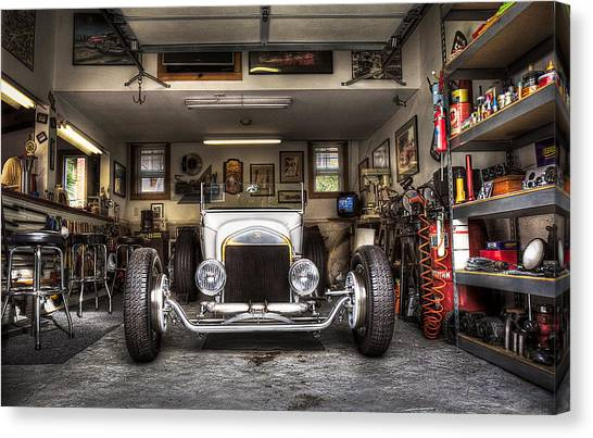 Birth Of A Roadster Canvas Print
