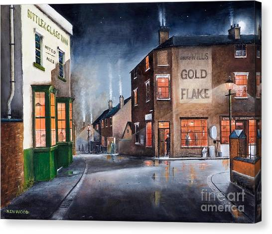 Black Country Village Centre Canvas Print