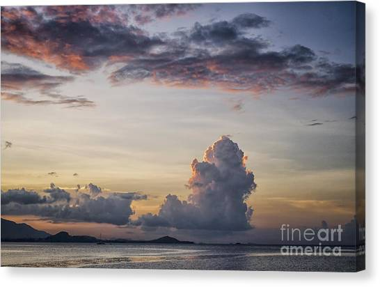 Blue Evening Canvas Print